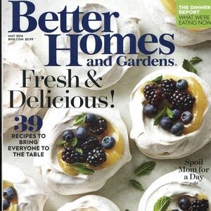 Other - NEW! Better Homes & Gardens May 2016 Issue